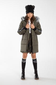 Stylish autumn-winter collection Reporter young
